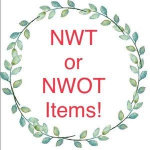 NWT or NWOT, Tops, Tees, Dresses, Shoes, Swimwear